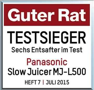 Slow Juicer Test